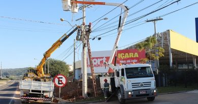 Temporal deixou 15 mil clientes da Cooperaliança sem energia
