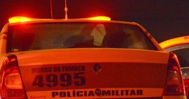 Jovem é preso em Morro da Fumaça depois de assaltar taxista