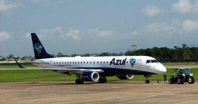 Azul mantém operações no Regional de Jaguaruna