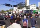 Em Criciúma, Centenário para em apoio aos caminhoneiros