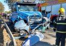 Acidente mata duas pessoas em Cocal do Sul