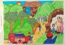 Desenhos de crianças da região vão ilustrar calendário dos bombeiros