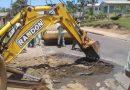 Vias são recuperadas em bairros de Içara