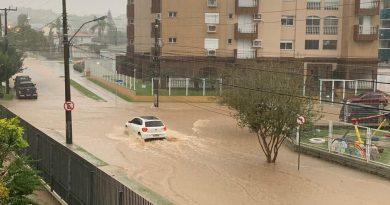 Imagens mostram caos provocado pela chuva na região