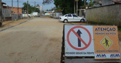 Morro da Fumaça conclui a pavimentação de 20 ruas