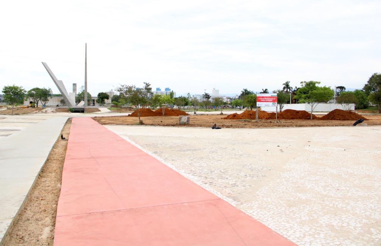Parque Centenário fecha para conclusão das obras de revitalização em Criciúma