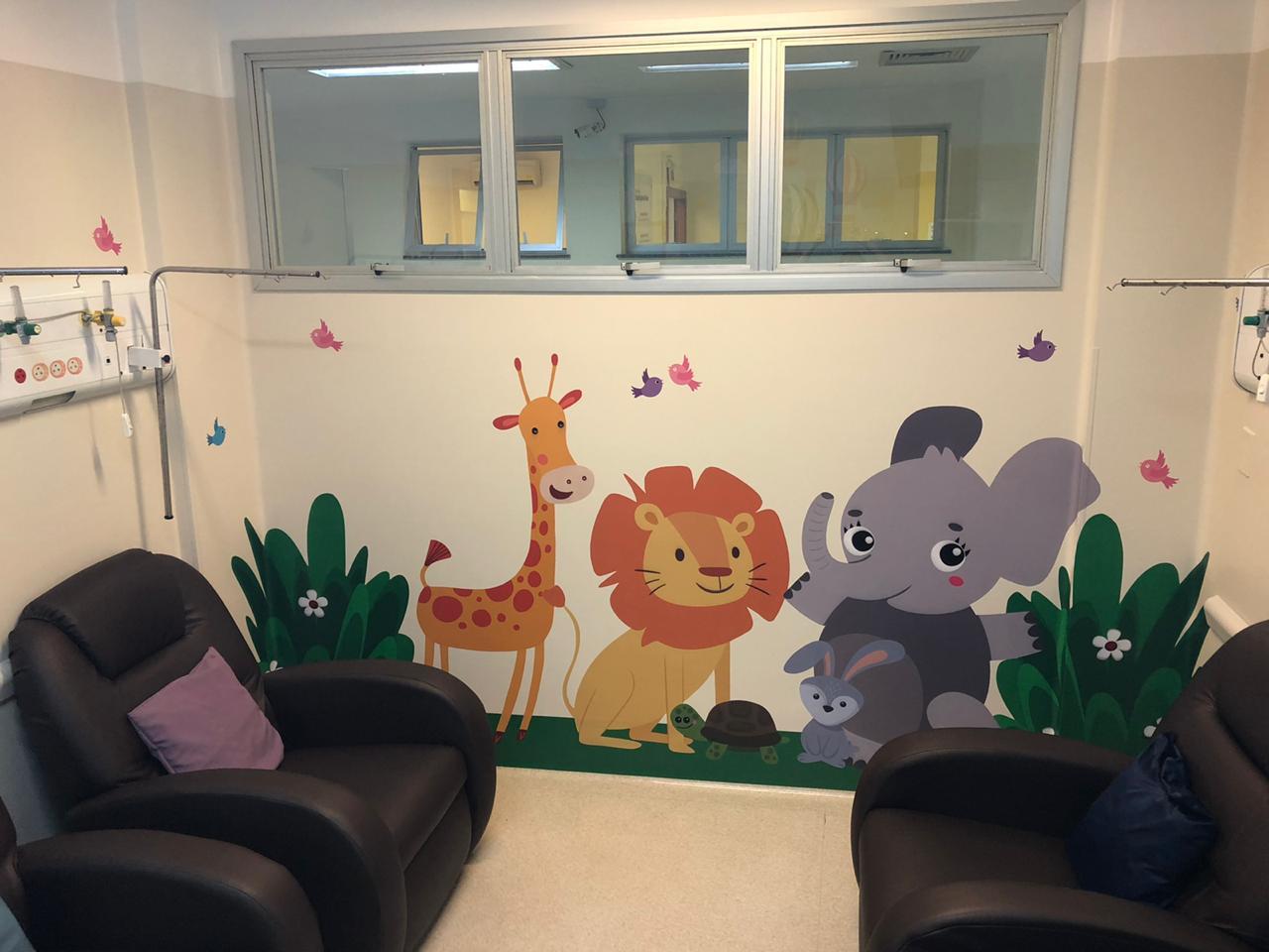 Pronto Atendimento do HSJosé recebe nova sala para atendimento pediátrico