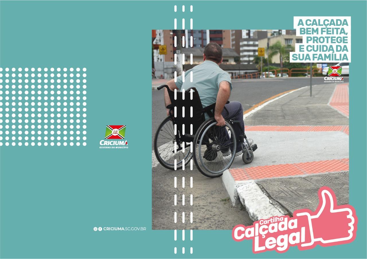 Cartilhas vão orientar sobre adequação de calçadas