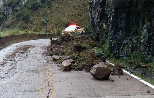 Trânsito é liberado na Serra do Rio do Rastro