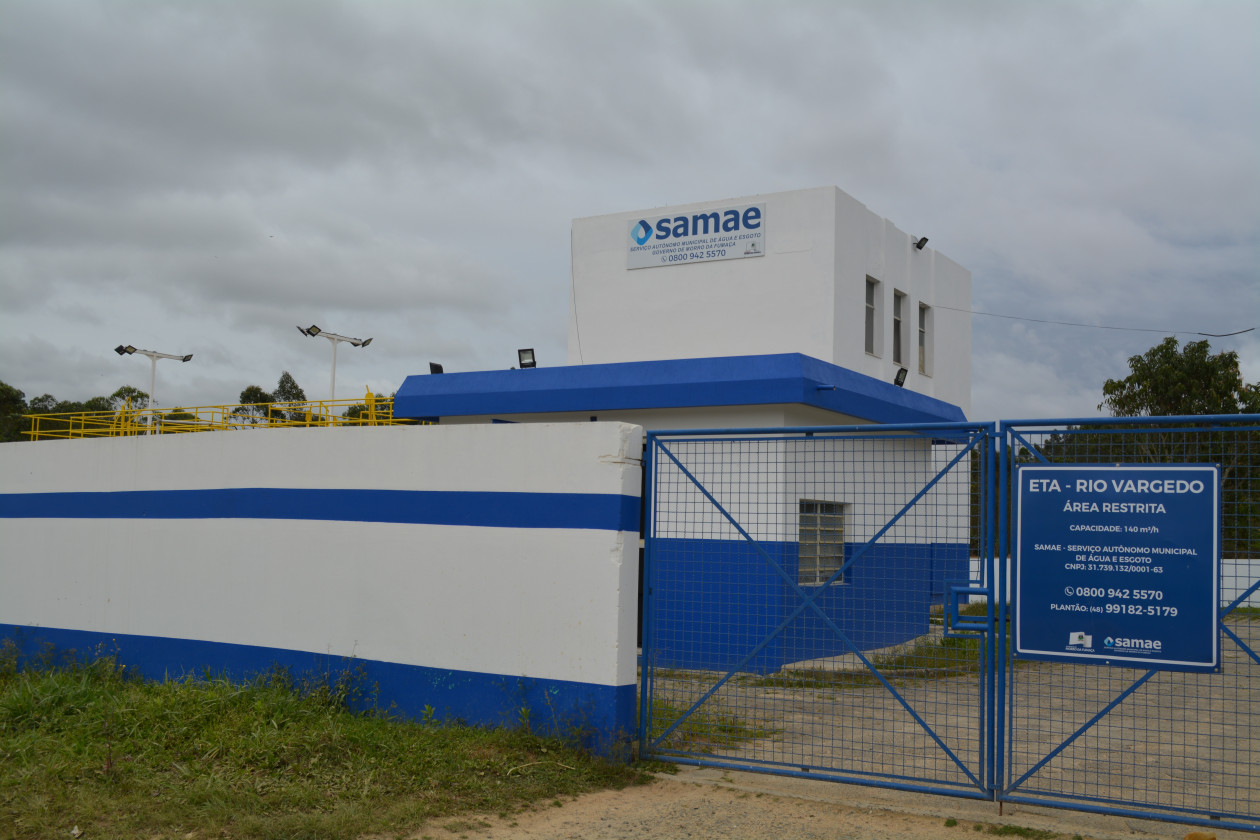 Samae inaugura nova estação de tratamento de água