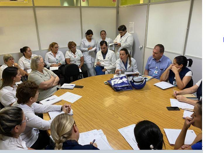 Coronavírus: HSJosé realiza reunião e alerta sobre a importância do controle de infecções
