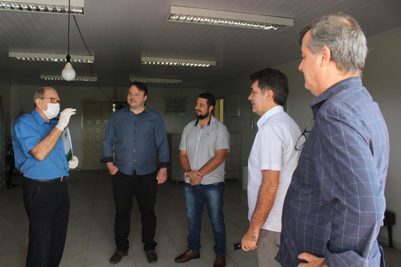 Governo de Criciúma faz visita técnica a antiga casa de saúde