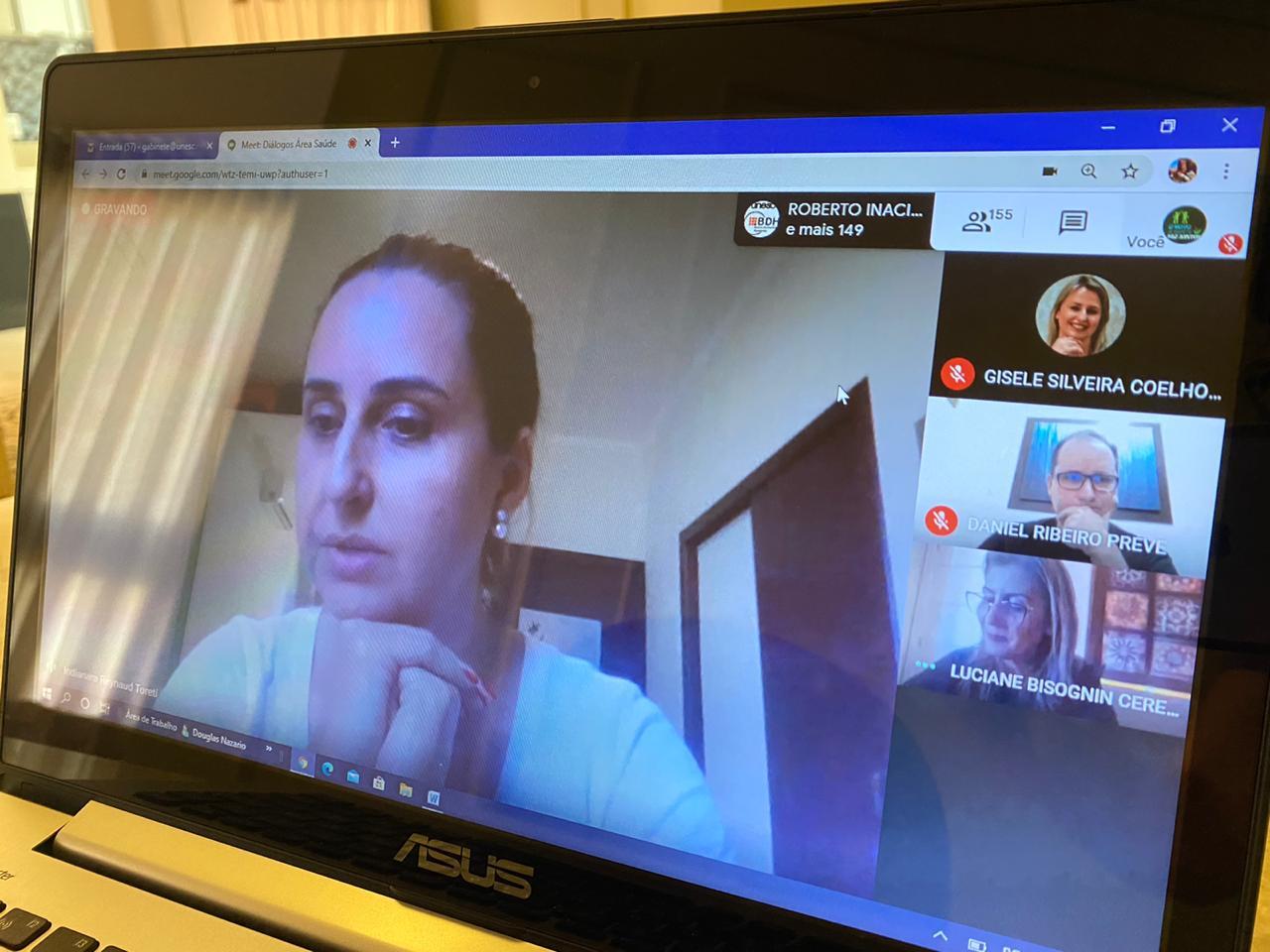 Últimos ajustes para o início das aulas mediadas por tecnologias na Unesc