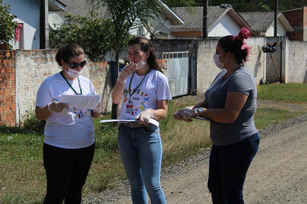 Mais de 840 cestas básicas já foram entregues em Criciúma