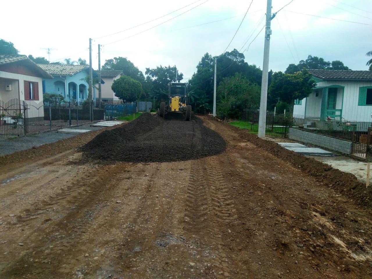 Obras públicas serão retomadas em Nova Veneza
