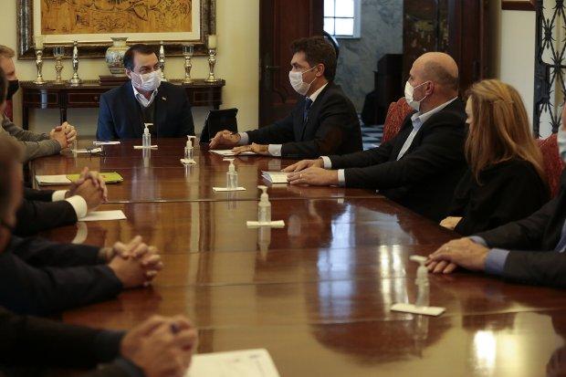 Coopera: Vereadores se reúnem com governador