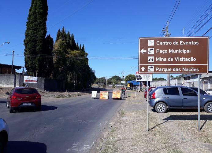 Avenida Santos Dumont estará fechada a partir desta quarta-feira