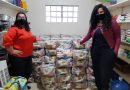 Famílias carentes recebem cestas básicas em Criciúma