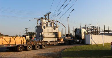 Cooperaliança recebe transformador para nova subestação